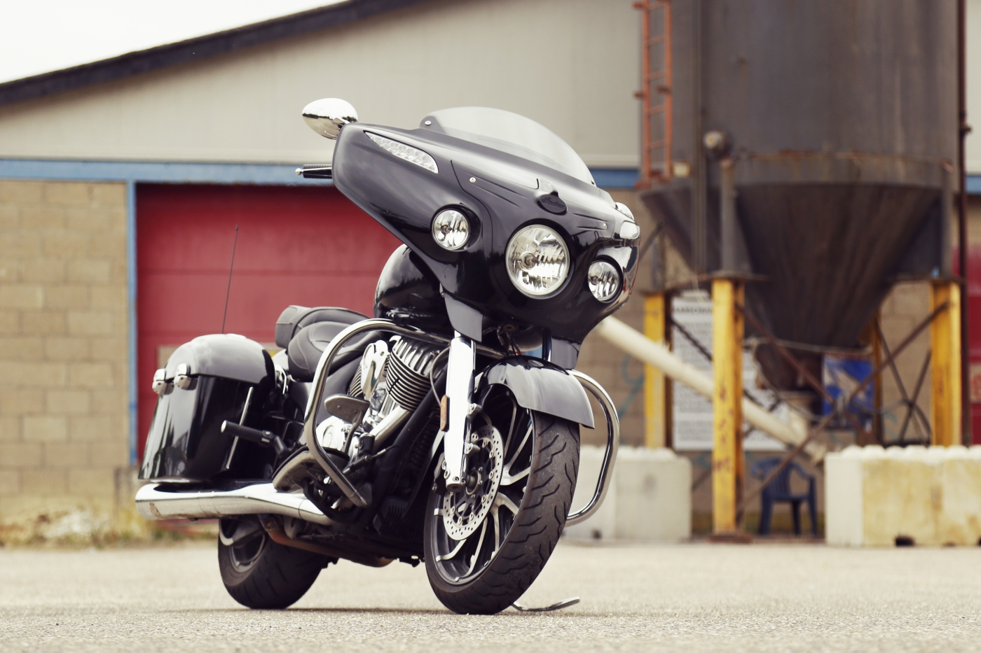 Indian Motorcycles - Dr  Jekill & Mr  Hyde | The Exhaust